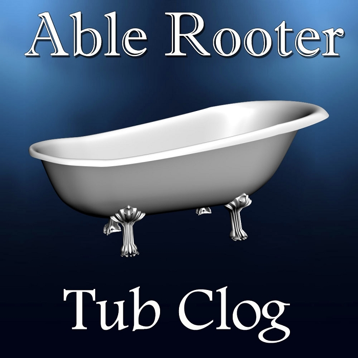 Bathtub Tub Clog - Drain Cleaning