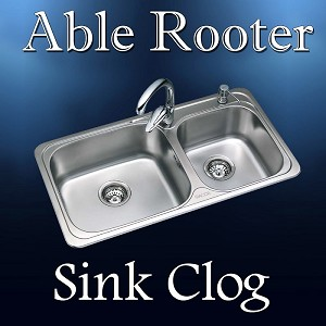 Sink Clog Drain Cleaning Able Rooter