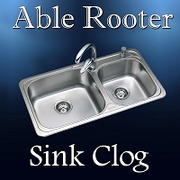 Sink Clog - Drain Cleaning